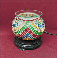 Glass Electric Oil Burner