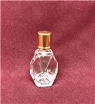 Diamond Cut Style Bottle (Gold Cap)