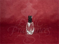 Diamond Cut Style Bottle (Black Cap)