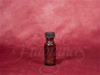 Boston Round Amber Glass Bottle